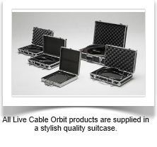 Quality Suitcases Live Cable